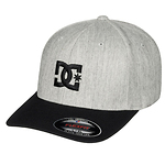 DC-Shoes-Cap-Star-2-lippis-harmaa