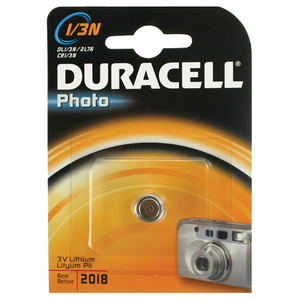 47-5728 | Duracell CR1/3 lithiumparisto