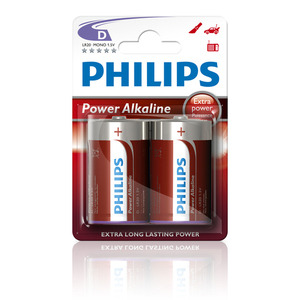 47-5880 | Philips Power Alkaline D (LR20) paristo 2kpl