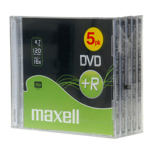 47-9082 | Maxell DVD+R  levy 16x 4,7GB JewelCase 5kpl