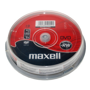 47-9087 | DVD-RW levy 4,7GB 10kplCakebox