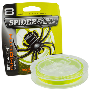 55-00412 | Spiderwire Stealth Smooth 8 kuitusiima 150m 0,20mm  20,0kg keltainen