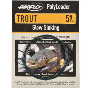 56-3153 | Airflo Polyleader Trout Slow Sink 5'
