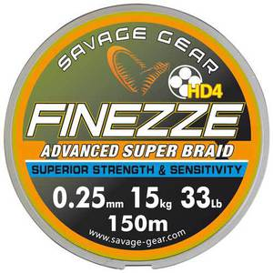 56-7547 | Savage Gear Finezze HD4 kuitusiima 0,06mm 3,3kg 120m