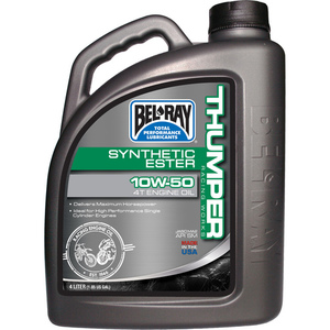 59-3080 | Bel Ray Works Thumper racing Full synthetic Ester 4T 10W-50 4L