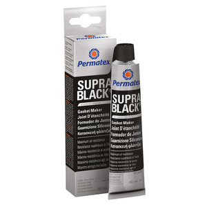 60-2349 | Permatex Supra Black Tiivistesilikoni 80 ml