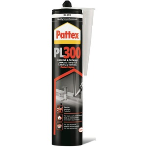 60-5396 | Pattex PL300 300ml musta