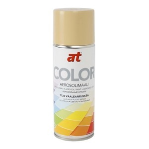 60-9423 | AT-Color spraymaali vaalean ruskea 400ml