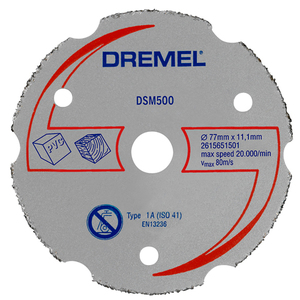 78-1106 | Dremel® DSM500 monitoimikarbidilaikka 77mm
