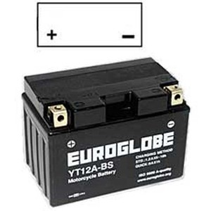 "90-0029 | Euroglobe MP-akku 12V 10Ah ""YT12A-BS"" (P150xL87xK105mm)"