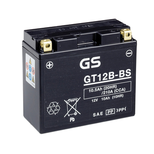 "90-0641 | GS MP-akku 12V 10Ah ""GT12B-BS/YT12B-BS"""