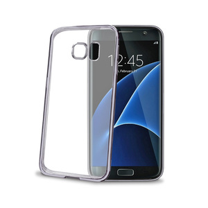 95-00028 | Celly Laser -suojakuori Samsung Galaxy S7 Edge, hopea BCLGS7EDS