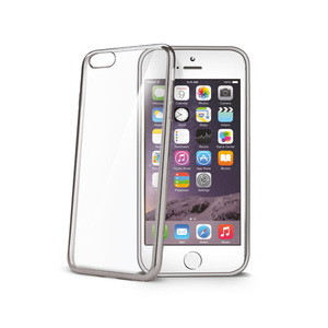 95-00030 | Celly Laser -suojakuori iPhone 6s plus/6 plus, hopea