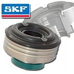 98-28520 | SKF iskunvaimentimen tiivisteholkki SHOWA - Shaft 16 mm - Piston 50 mm