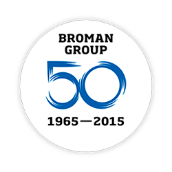 Broman Group 50 vuotta